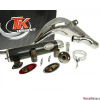 Turbo Kit Kipufogó Turbo Kit Bufanda Carreras 80 - Rieju MRX, RRX, SMX, Spike
