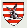 Turul árpádsávos pajzs matrica (7,2*8 cm)