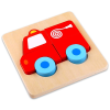 Tűzoltóautó mini fa puzzle