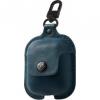 Twelve South Air Snap bőr tok Apple Airpods - kék