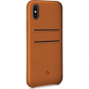 Twelve South Relaxed Leather Clip bőr tok iPhone X - barna