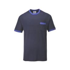 TX22 - Portwest Texo kontraszt póló - Tengerészkék