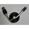 TYPE C MicroUSB-C - USB 2.0 kábel, fekete