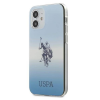 U.S. POLO ASSN. US Polo USHCP12SPCDGBL iPhone 12 mini kék színátmenet Collection telefontok