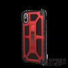 UAG Monarch Apple iPhone X hátlap tok, Crimson