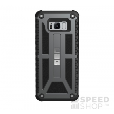 UAG Monarch Samsung G955 Galaxy S8+ hátlap tok, Graphite tok és táska