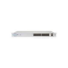 Ubiquiti switch - us-24-250w - unifiswitch 24gbitlan, 2sfp, 26gbps, rack-mountable, 250w poe budget, managed hub és switch