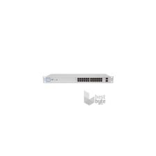Ubiquiti UniFi US-24 24port GbE PoE (250W) 2port GbE SFP menedzselhető switch hub és switch