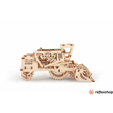 UGEARS Kombájn – mechanikus modell autópálya és játékautó