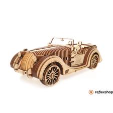 UGEARS Roadster autó – mechanikus modell kreatív és készségfejlesztő