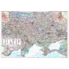 Ukrajna és Moldova autótérkép falitérkép - GiziMap