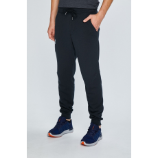 Under Armour - Nadrág Rival Cotton Jogger - fekete - 1278859-fekete