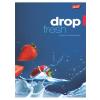 """UNIPAP Füzet, tűzött, A4, kockás, 32 lap,  """"Fresh Fruit"""""""