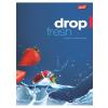 "UNIPAP Füzet, tűzött, A4, sima, 96 lap, UNIPAP ""Fresh Fruit"""