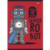"""UNIPAP Füzet, tűzött, A5, vonalas, 32 lap, 1. osztály,  """"Robot"""""""