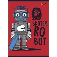 """UNIPAP Füzet, tűzött, A5, vonalas, 32 lap, 2. osztály,  """"Robot"""" füzet"""
