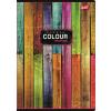 """UNIPAP Spirálfüzet, A4, vonalas, 80 lap,  """"Color"""""""
