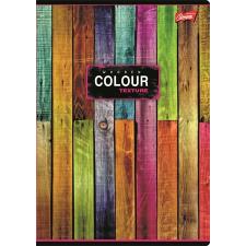 """UNIPAP Spirálfüzet, A4, vonalas, 80 lap,  """"Color"""" gyűrűskönyv"""