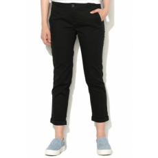 United Colors of Benetton Fekete Crop Chino Nadrág 40 (4CDR555T4-100-40)