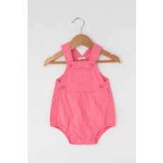 United Colors of Benetton , Zsebes overall, Rózsaszín, 3-6M Standard (4AY358T5E-3R5-62)