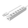 Unitek Hub 7x USB 2.0 aluminium, Y-2183