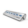 Unitek Hub 7x USB 3.0. aluminium  Y-3187