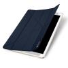 UniverTel Dux Ducis iPad Pro 12,9 Skin Leather oldalra nyíló bőr tok, sötétkék