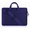 """Univerzális laptop táska, 11""""-os készülékhez, hosszú oldal zseb, vállpánttal, Iralan, sötétkék"""
