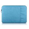 """Univerzális laptop táska, 11""""-os készülékhez, nagy oldal zseb, bújtatós, Iralan, kék"""