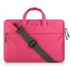 """Univerzális laptop táska, 15""""-os készülékhez, hosszú oldal zseb, vállpánttal, Iralan, rózsaszín"""