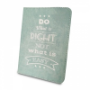 "Univerzális TabletPC tok, mappa tok, 9-10"", stand, Do what is right minta, zöld"