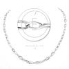 Üreges ezüst Rolo Lungo Quadrata lánc
