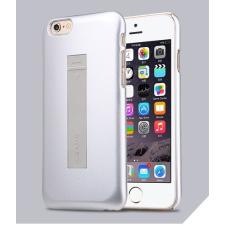 USAMS Apple iPhone 6 tok, adatkábellel, USAMS Cooke, ezüst tok és táska