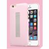 USAMS Apple iPhone 6 tok, adatkábellel, USAMS Cooke, rózsaszín