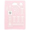 USAMS Tower oldalra nyíló bőrbevonatos tok Apple iPad Air-hez rózsaszín*