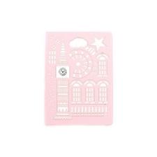 USAMS USAMS Tower oldalra nyíló bőrbevonatos tok Apple iPad Air-hez rózsaszín* tablet tok
