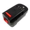 utángyártott Black & Decker Firestorm GLC2500 akkumulátor - 2000mAh