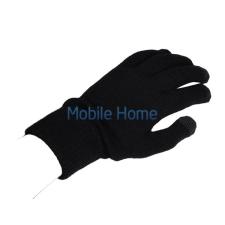 utángyártott Kapacitív kesztyű érintőképernyős telefonhoz, fekete/szürke tok és táska