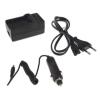 utángyártott Ricoh WG-4 GPS akkumulátor töltő szett