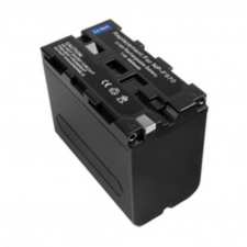 utángyártott Sony HDV-FX / HDV-FX1 / HDV-Z1 akkumulátor - 6600mAh sony videókamera akkumulátor