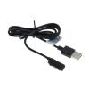 utángyártott Sony kompatibilis töltő kábel mágneses csatlakozó felülettel, fekete