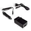 utángyártott Sony NP-FM30, NP-FM50, NP-FM55H akkumulátor töltő szett