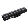 utángyártott Sony Vaio VGN-CS39/U, VGN-CS390JDV fekete Laptop akkumulátor - 4400mAh