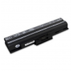 utángyártott Sony Vaio VGN-FW190EBH, VGN-FW190EDH fekete Laptop akkumulátor - 4400mAh