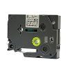 Utángyártott szalag Brother TZ-115 / TZe-115, 6mm x 8m, fehér nyomtatás / átlátszó alapon