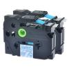 Utángyártott szalag Brother TZ-143 / TZe-143, 18mm x 8m, kék nyomtatás / átlátszó alapon