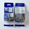 Utángyártott szalag Brother TZ-163 / TZe-163, 36mm x 8m, kék nyomtatás / átlátszó alapon
