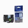 Utángyártott szalag Brother TZ-253 / TZe-253, 24mm x 8m, kék nyomtatás / fehér alapon
