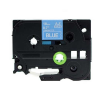 Utángyártott szalag Brother TZ-545 / TZe-545, 18mm x 8m, fehér nyomtatás / kék alapon