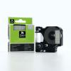 Utángyártott szalag Dymo 45020, S0720600, 12mm x 7m fehér nyomtatás / átlátszó alapon